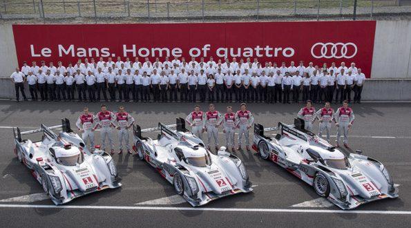 AM130076 small 595x330 - Audi peilt zwölften Sieg in Le Mans an