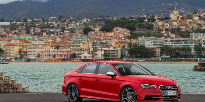 Frisch vom Zeichenbrett: Audi S3-Limousine
