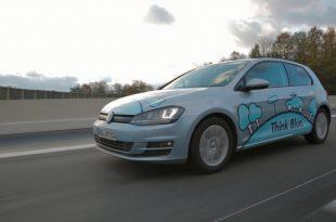 """21 310x205 - VW Golf TDI – """"Think blue""""!"""