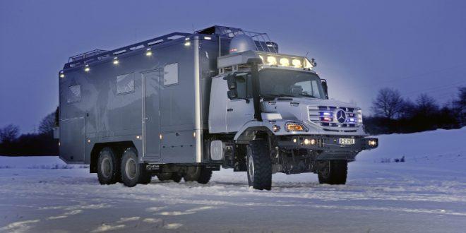 202 660x330 - Mercedes-Benz Zetros – ein OffRoad Wohnmobil